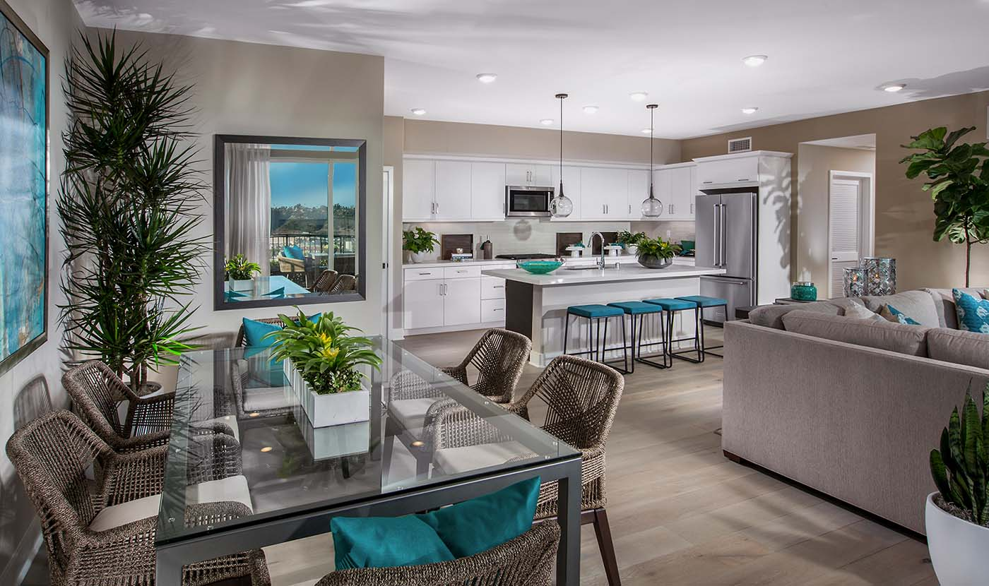 Promontory Plan 6 Model Home Kitchen