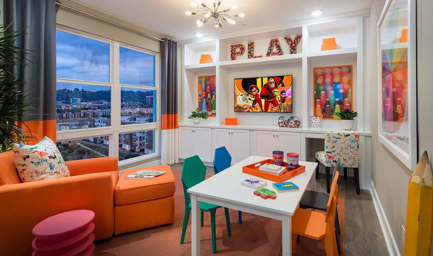 Promontory Plan 8 Play Room