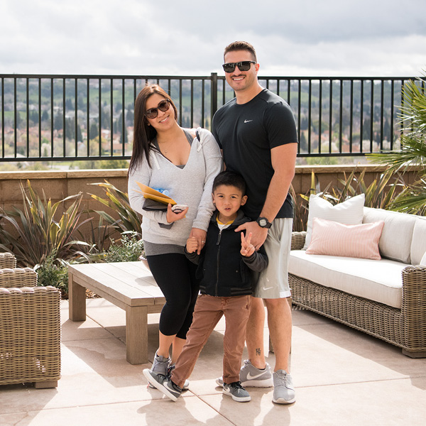 Family at Canyon View Image