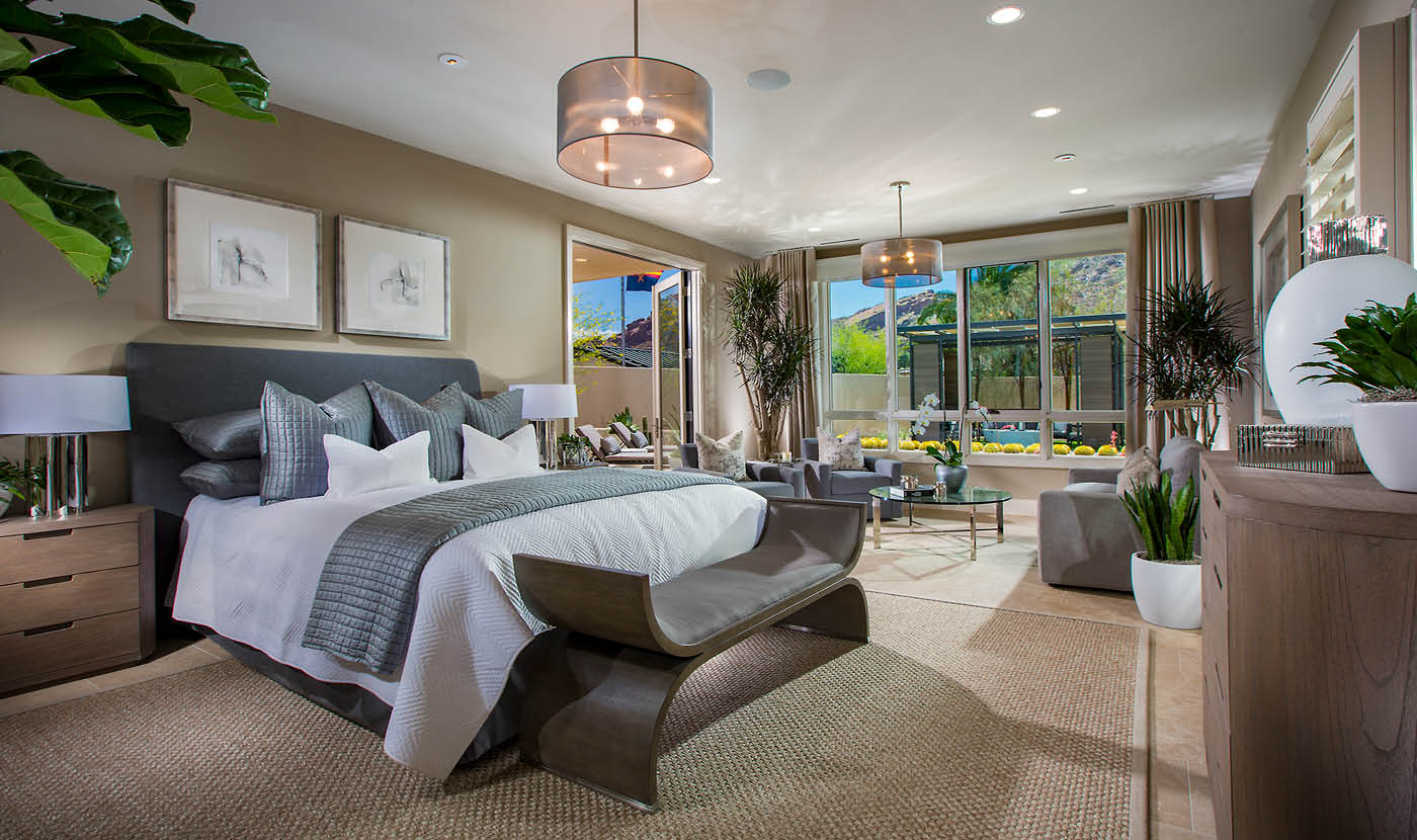 Mountain Shadows Model Residence Master Suite