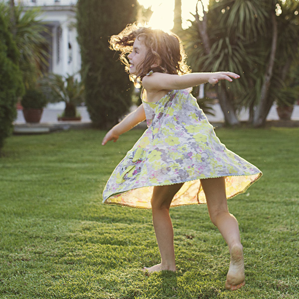 Young Girl Twirling