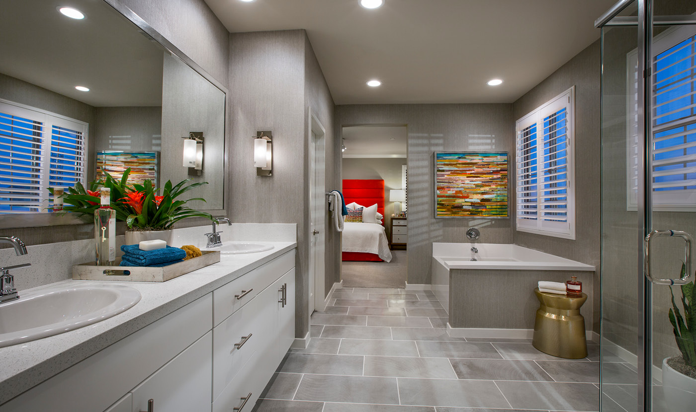 Plan 1 - Seville Model home Master bath