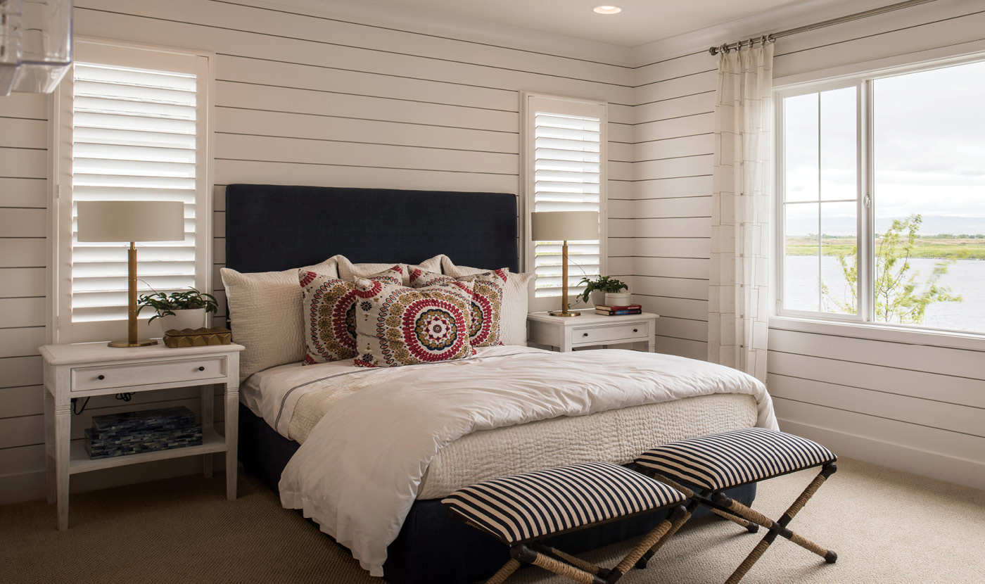 Plan 1 - Tidewater bedroom