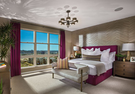 The Bluffs Model Home Master Suite