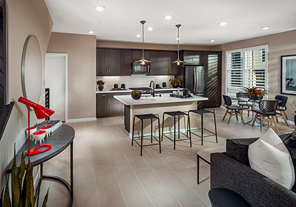 The Heights Model Home Kitchen