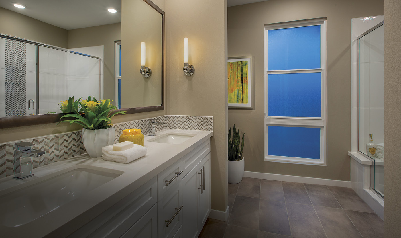Plan 4 - Model Home Master Bath