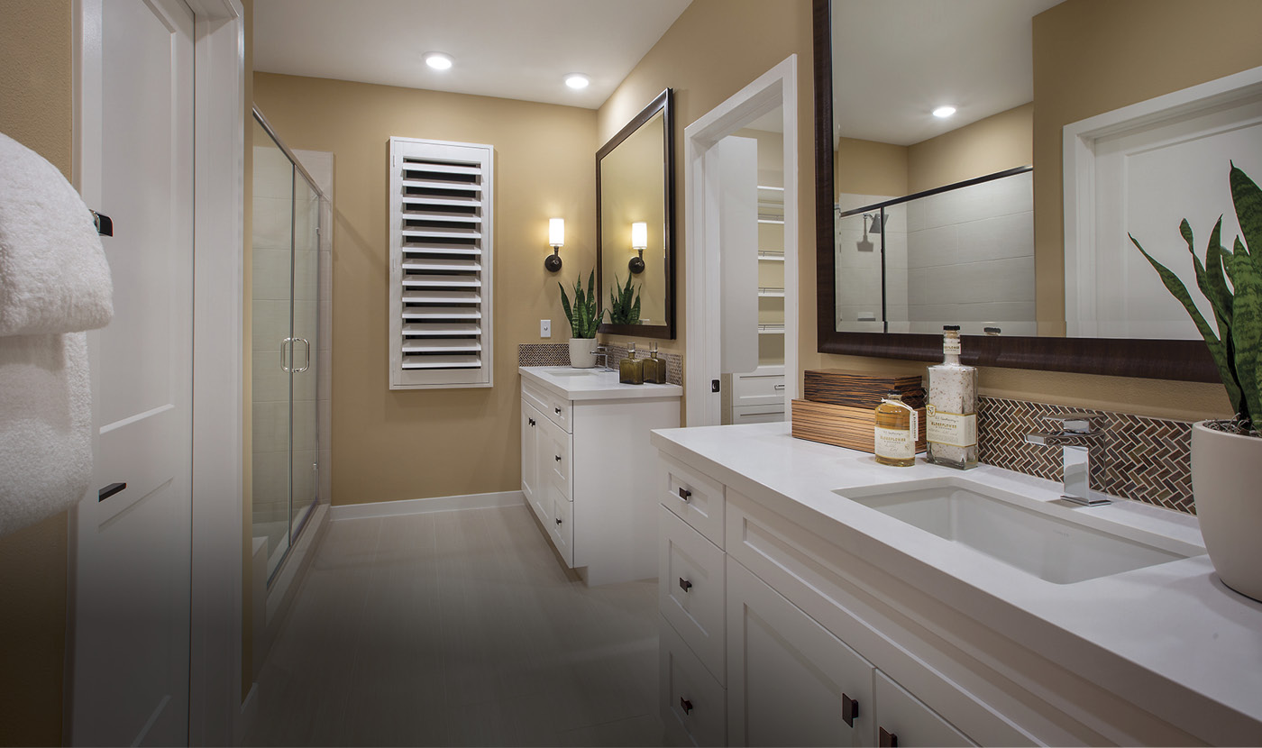 Plan 5 - Model Home Master Bath