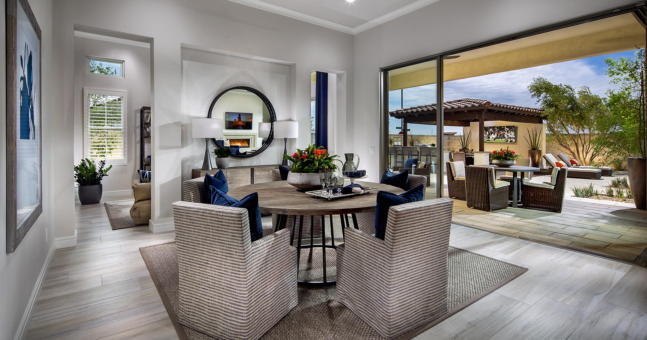 Belmont Model Home dining Area