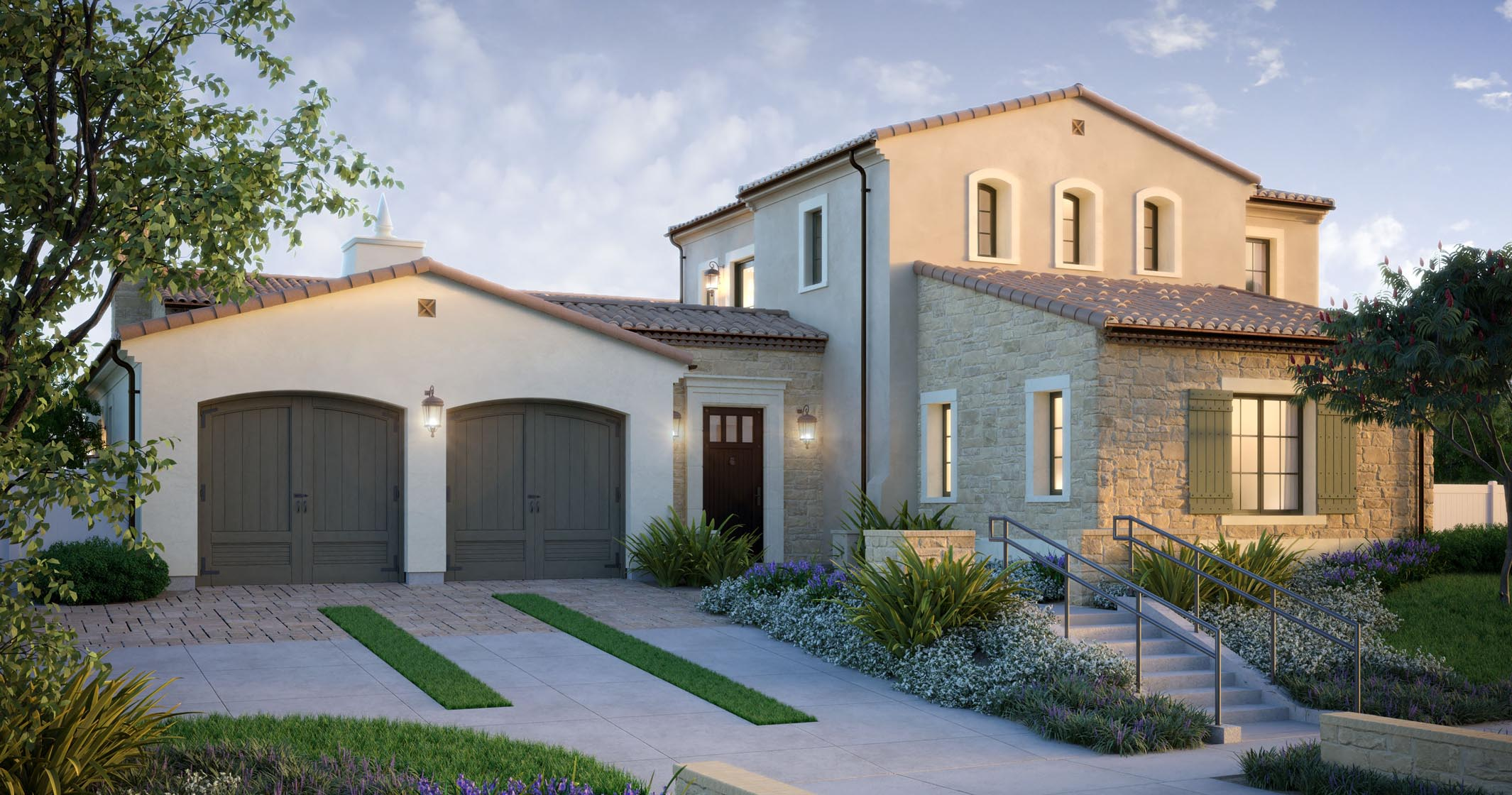 Sky Ranch at Covenant Hills San Juan Rustic Elevation