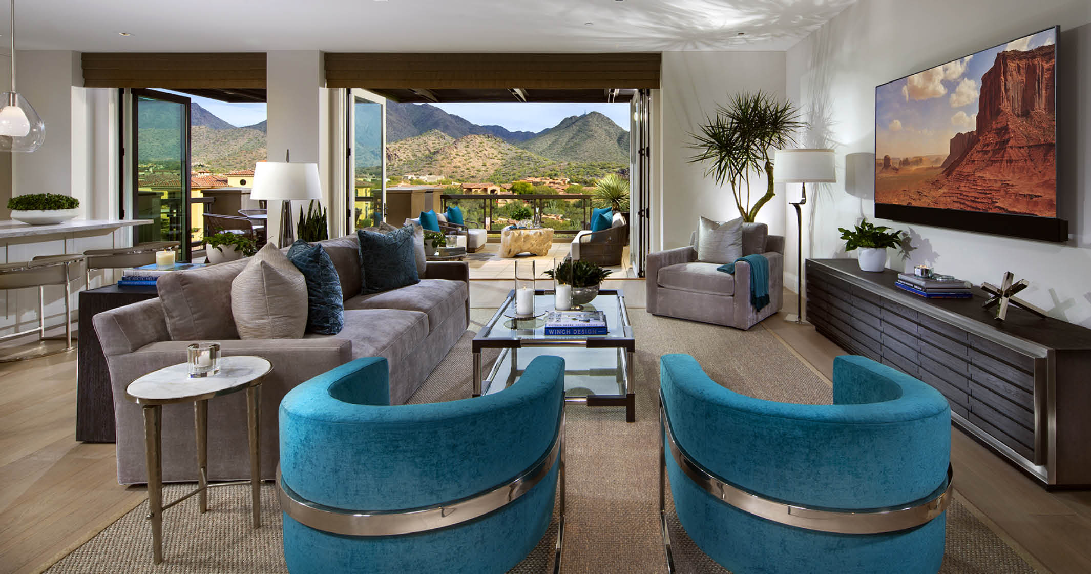 ICON Silverleaf Model Home Interior