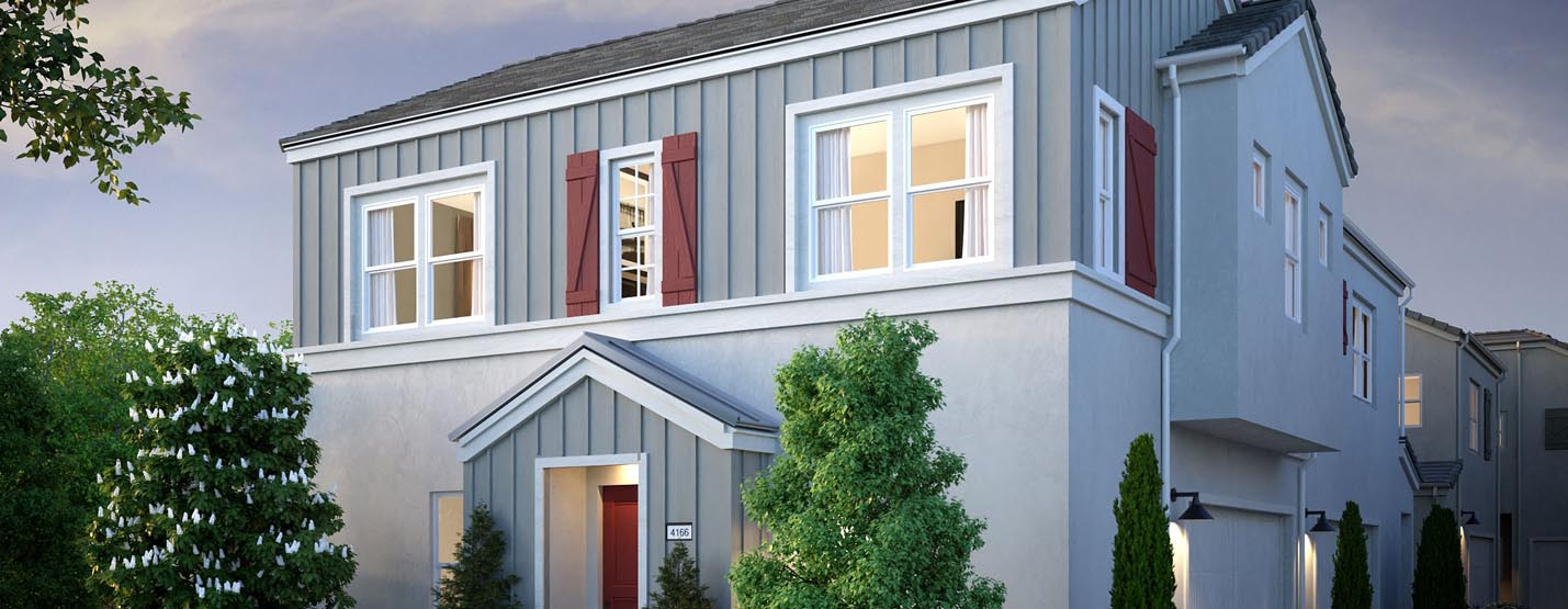 New Home Co. on April 6 began selling 80 new single-family homes off the I-15 at Cajalco Road. Parson is the fourth neighborhood to open at Aliso Viejo-based builder's Bedford gated community.