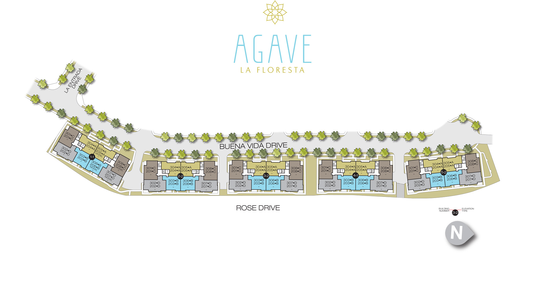 Agave Site Plan