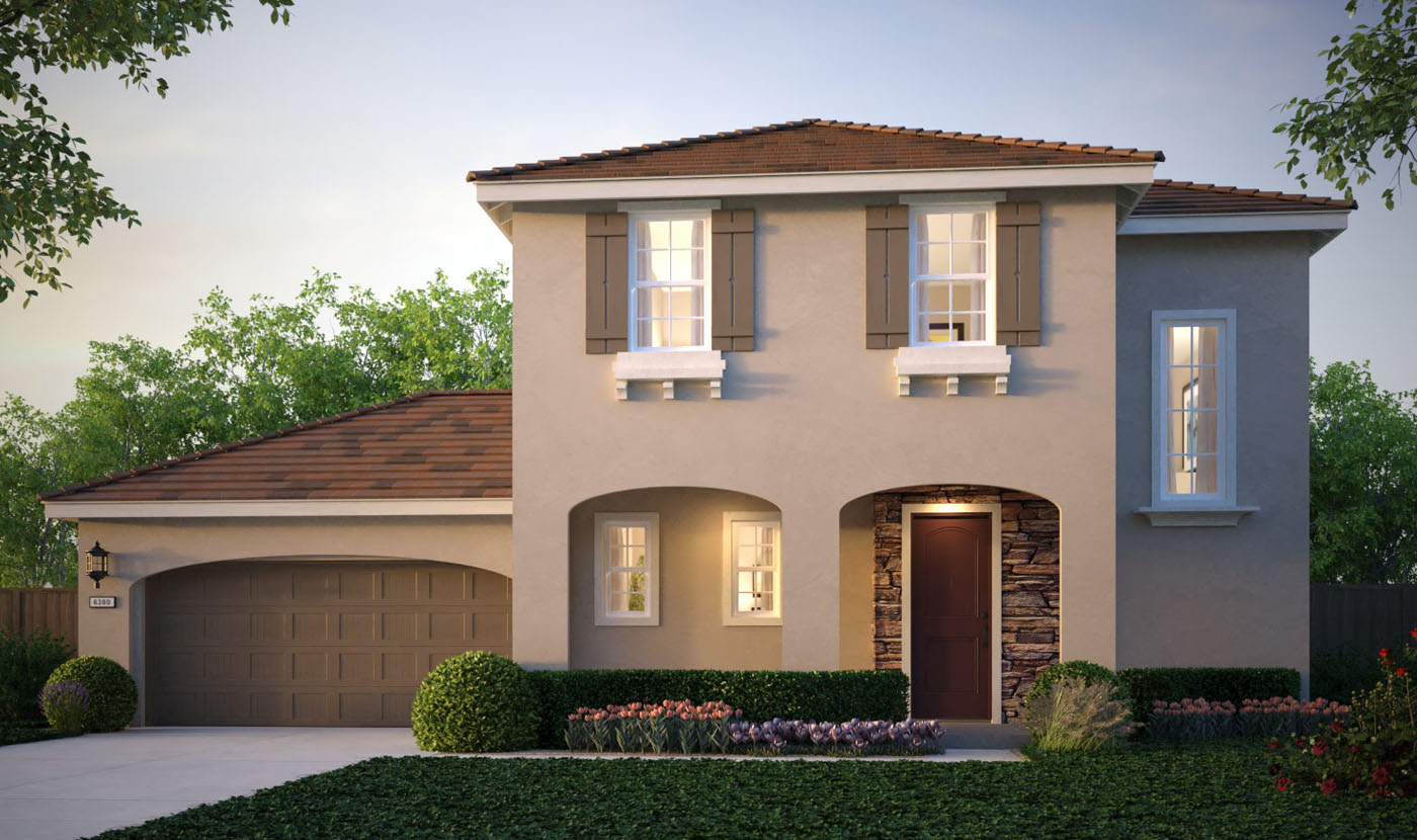 Model Home Image Gallery