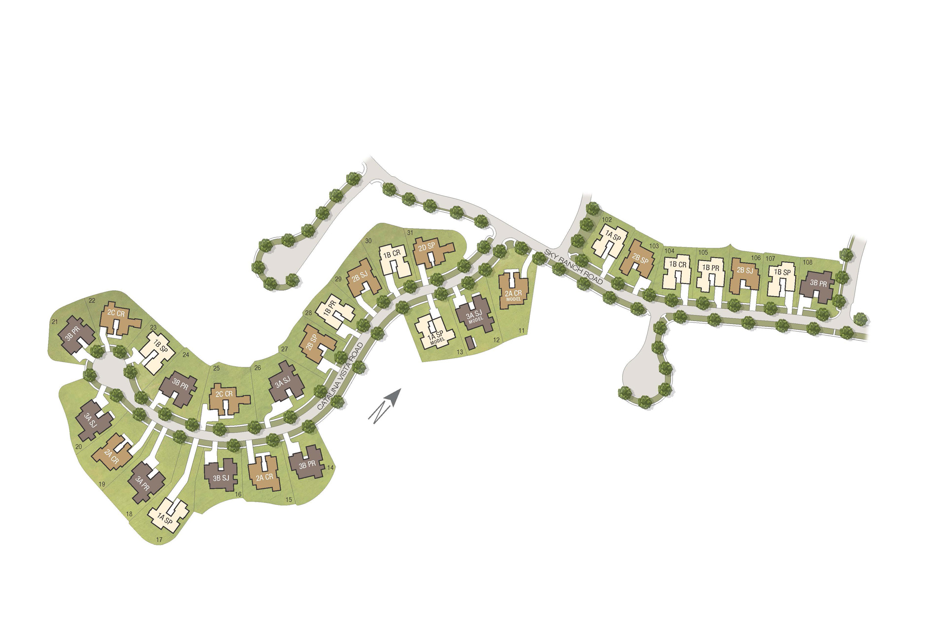Sky Ranch at Covenant Hills Site Plan