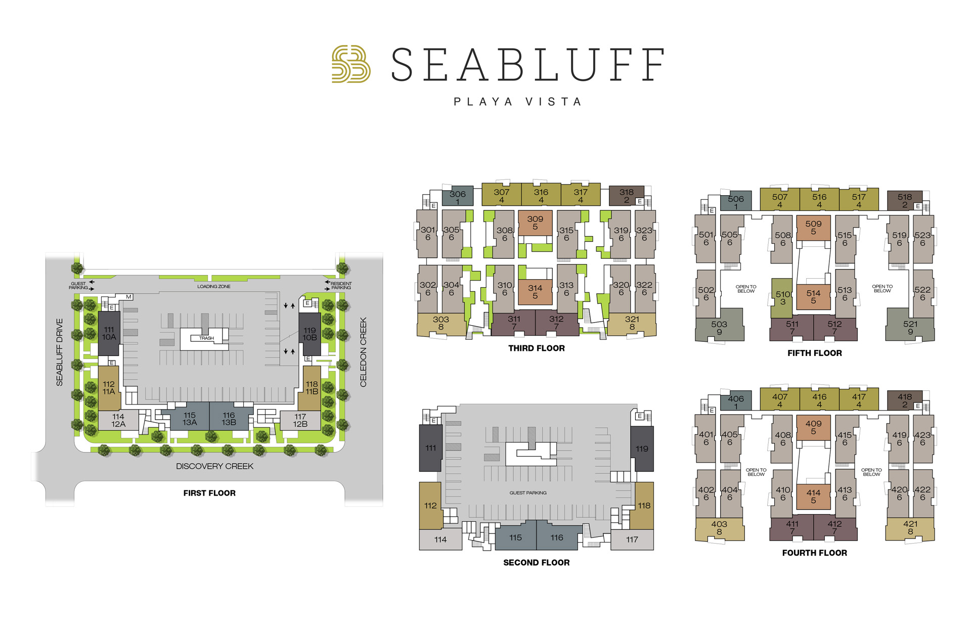 Seabluff Playa Vista Site Plan