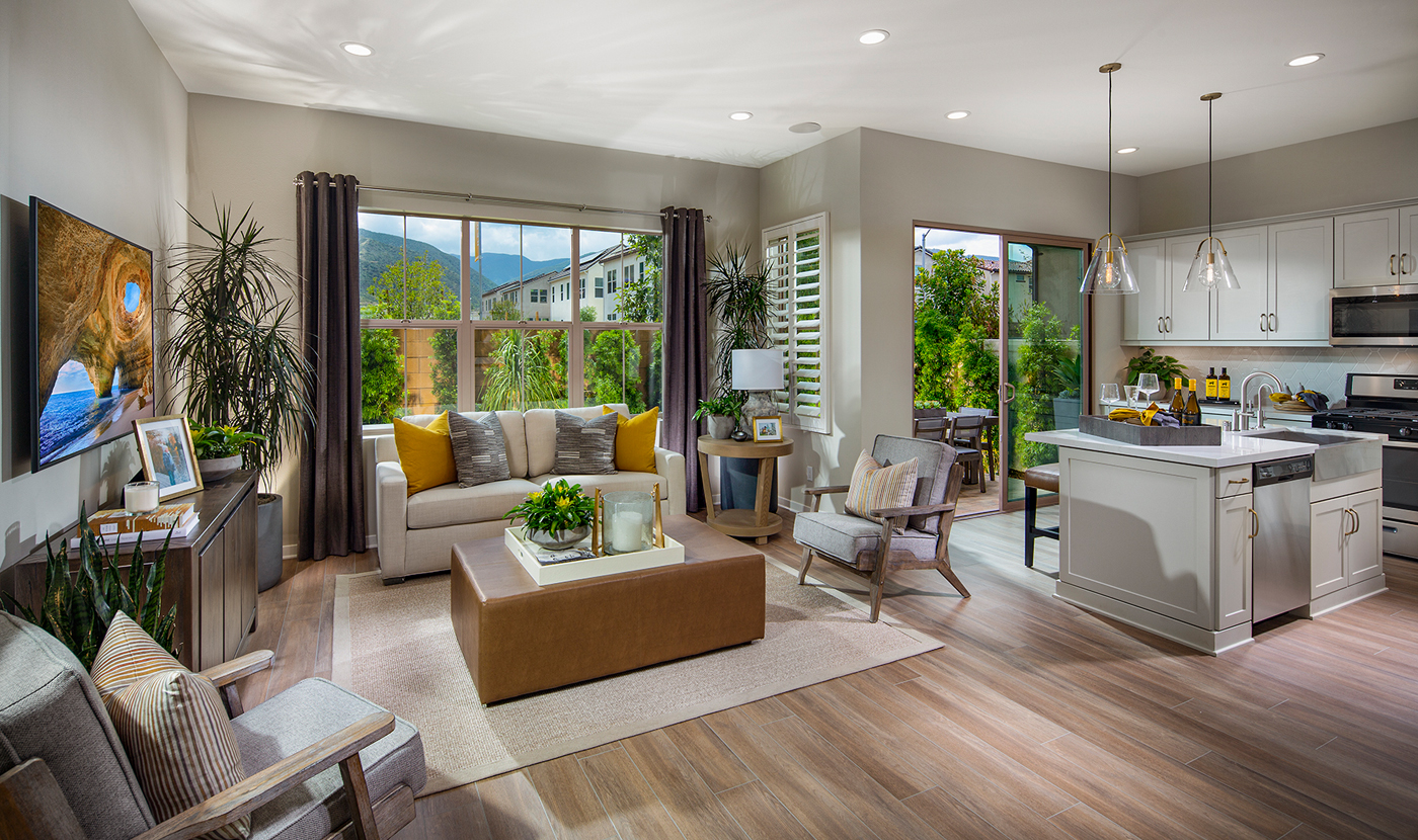 Plan 1 Model Home Great Room