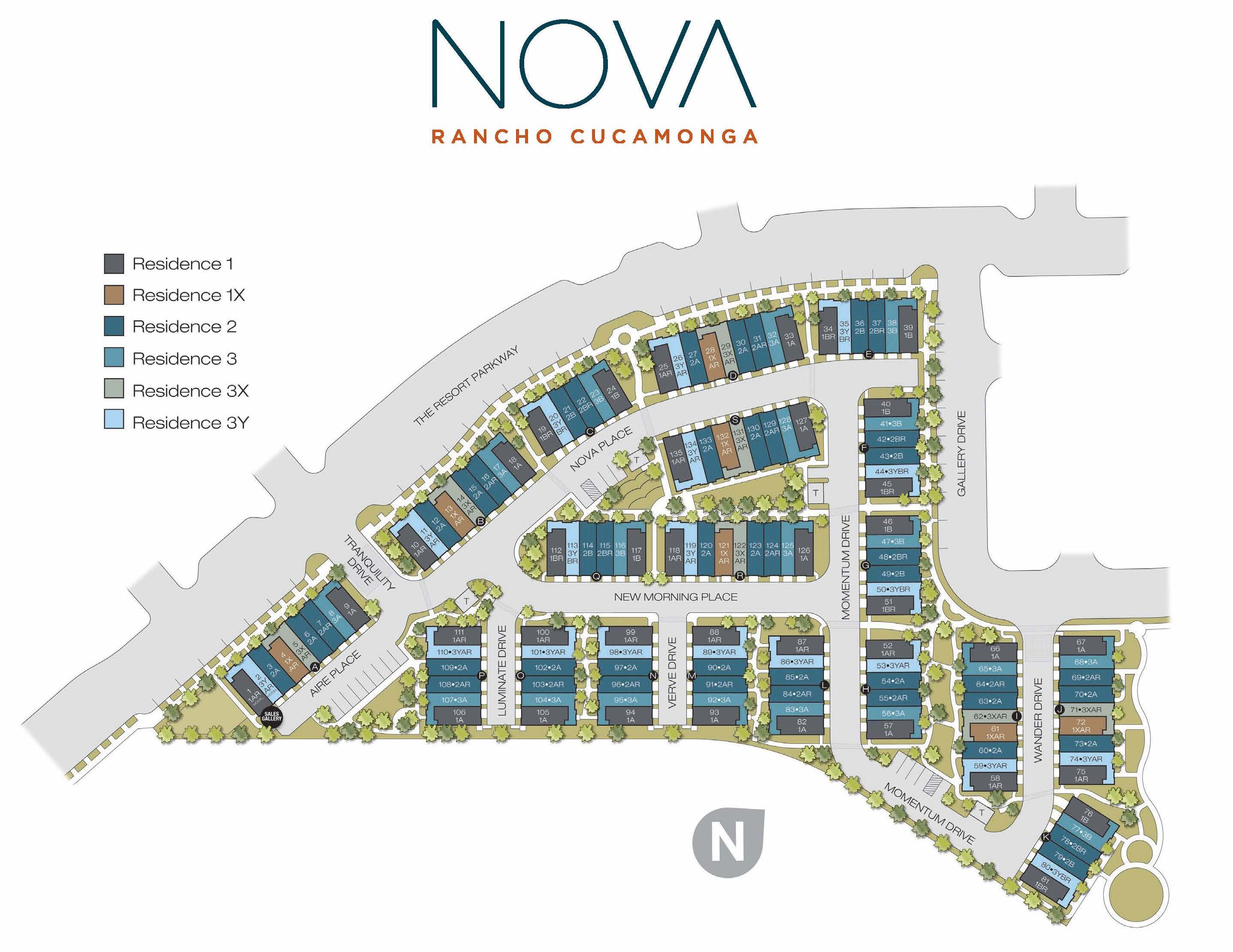 Nova RC Site Plan