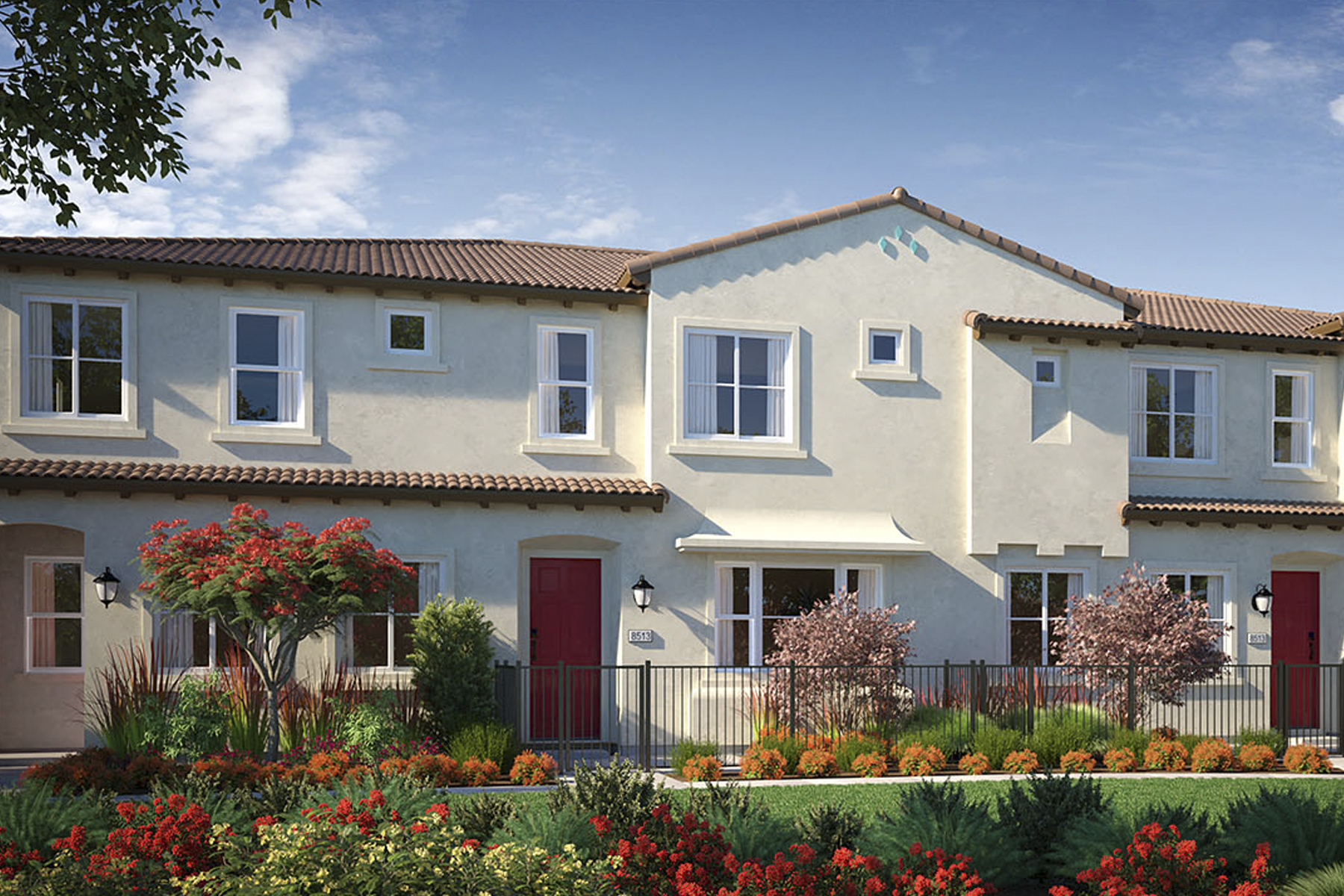 NUVO Artisan Square Rendering 4 Plex A