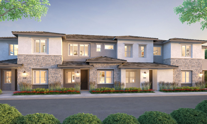 The Rows Exterior Rendering