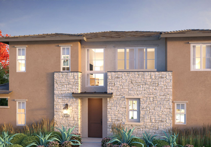 The Towns Exterior Rendering