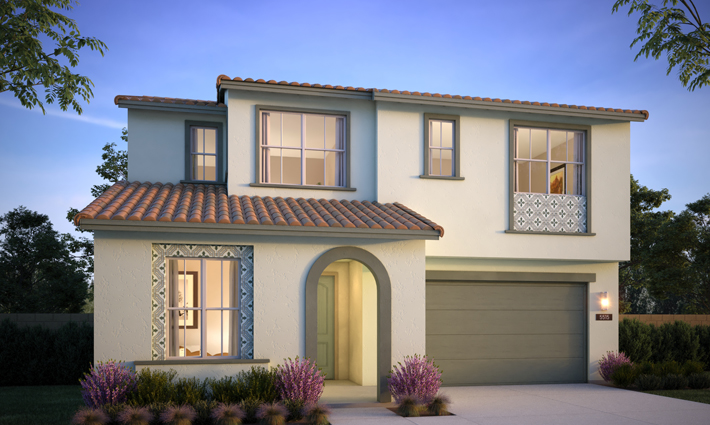 Cottages Exterior Rendering