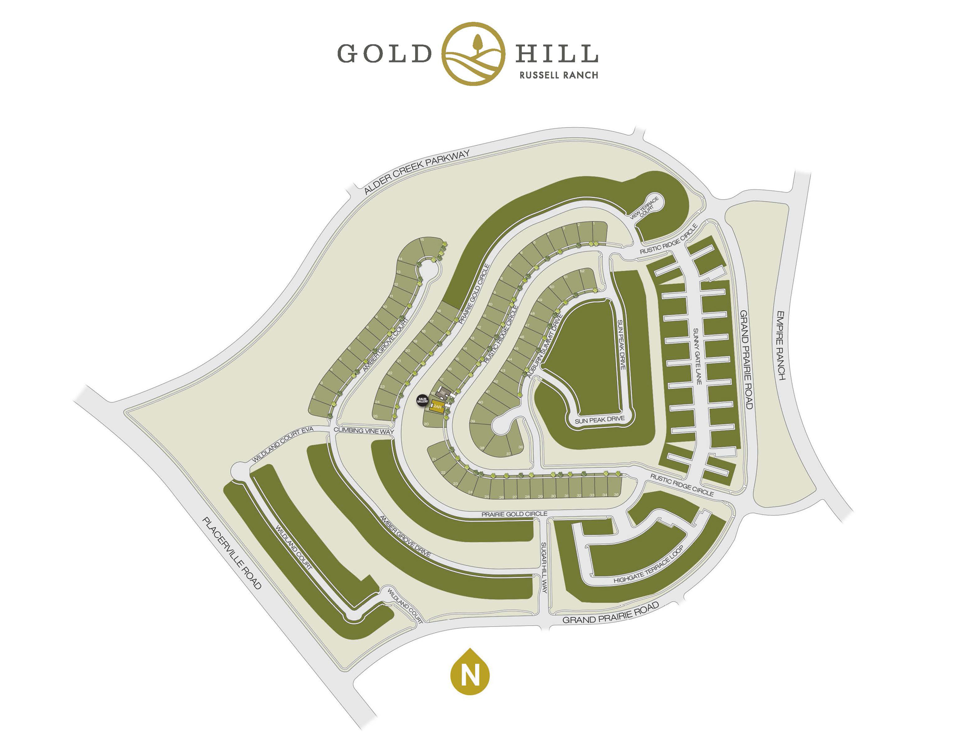 Gold Hill Site Plan