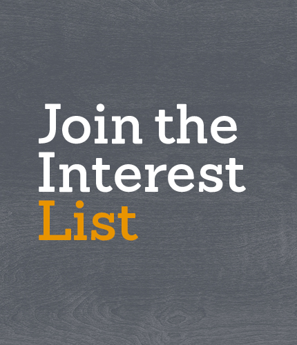 Join the Interest List Image